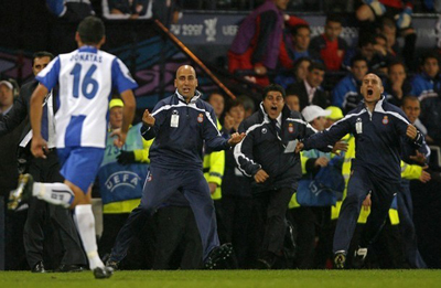 Espanyol Barcelona's Brazilian midfielde