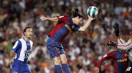 PARTIDO DE LIGA ENTRE EL FC BARCELONA Y EL RCD ESPANYOL